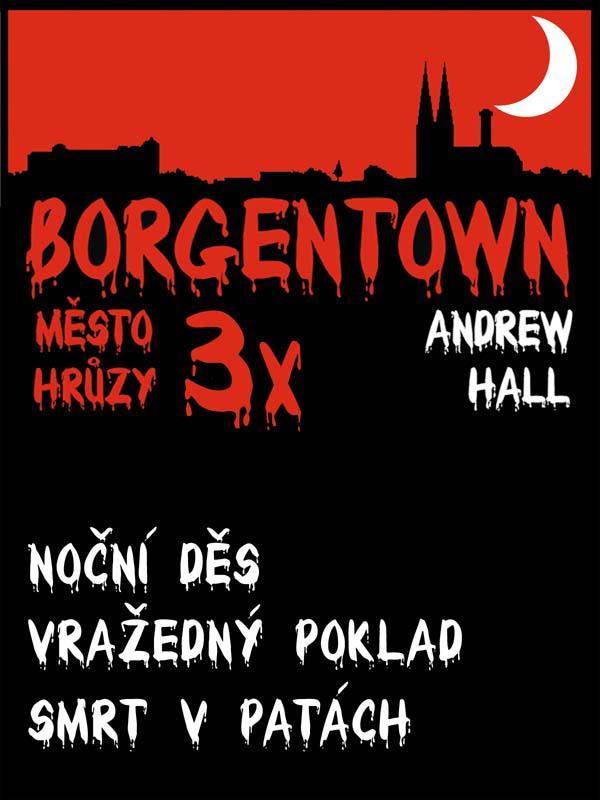 3x Borgentown III – město hrůzy, nakladatelství Viking