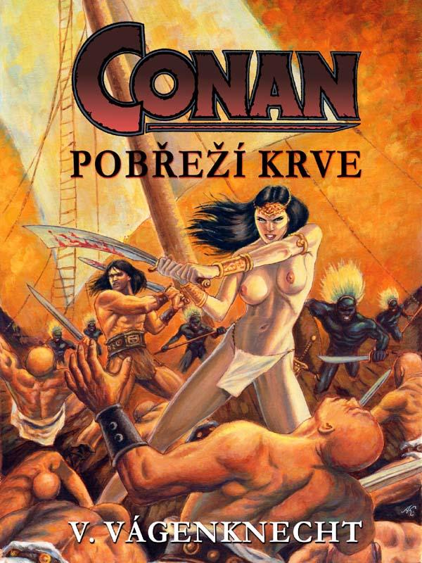 Conan - pobřeží krve, nakladatelství Viking