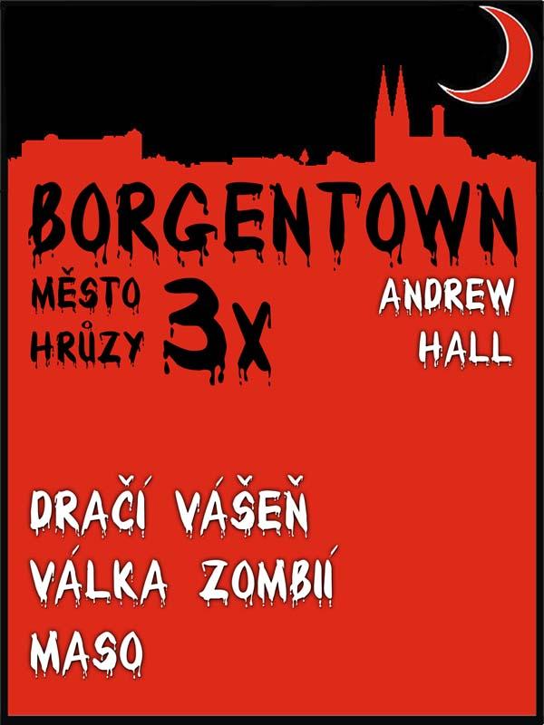 3x Borgentown – město hrůzy II, nakladatelství Viking