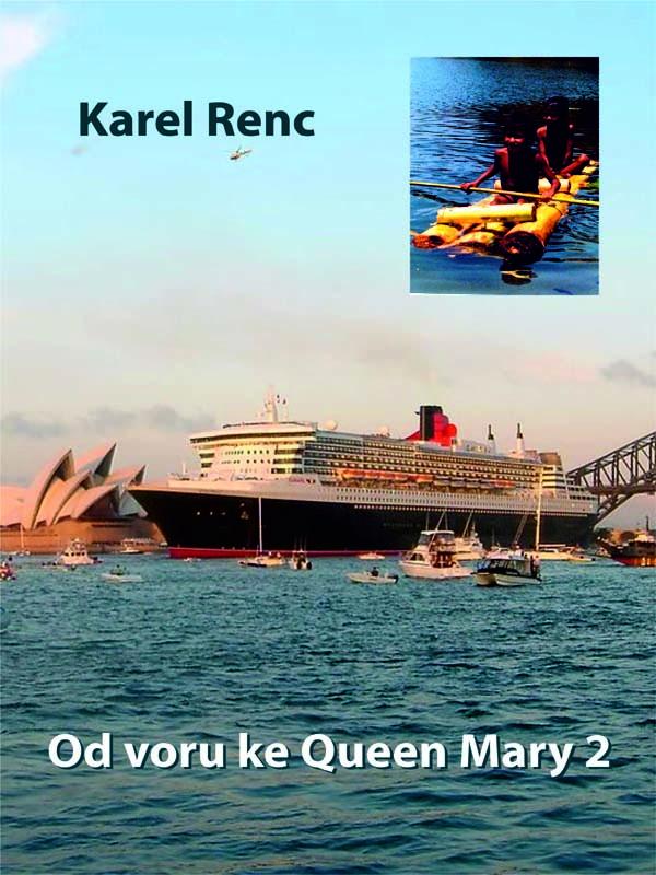 Od voru me Queen Mary 2, nakladatelství Viking